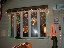 Holiday Christmas Window Decorations by Window Christmas Lights Ideas Day Dreaming And Decor