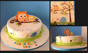 owl baby shower cake photo owl baby shower lip image