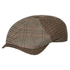 Patchwork Cap - wigens henry wool patchwork cap delmonico hatter