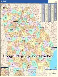 ga zip code map zip code map from onlyglobes com