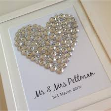 silver wedding gifts personalised gift for any occasion the silver button