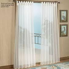 Sheer Curtains Tab Top Escape Tab Top Sheer Indoor Outdoor Curtain Panels