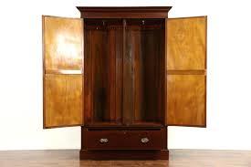 Black Armoire Bedroom Cool Storage Armoire Black Wardrobe Closet Free Standing