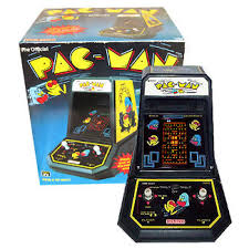 Pacman Game Table by Pac Man Coleco Tabletop Arcade Geek Vintage