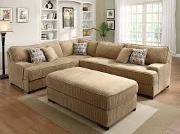 Camel Sectional Sofa Camel Leather Sectional Lazboy Devon 5 Piece Sectional With Ras