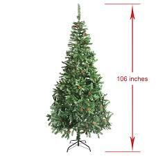 artificial indoor pine tree 9 foot