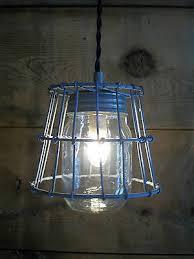 Primitive Light Fixtures Jar Light Fixture Primitive Milk Crate Wire Basket 1