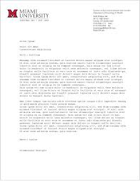 Examples Of Letterheads For Business by Business And Stationery The Miami Brand Ucm Miami University