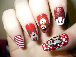12 cute christmas reindeer and rudolph nail art zestymag