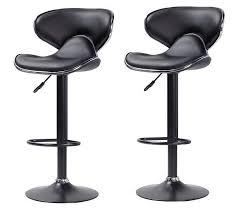 petit tabouret de cuisine chaise bar noir design en image