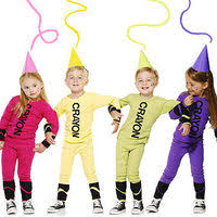 crayon costume colorful and easy crayon costume