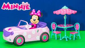minnie mouse disney junior minnie u0027s roadster remote control car