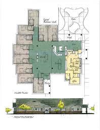 senior housing floor plans small house plans for senior living