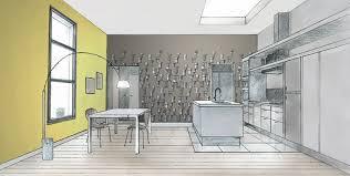 papier peint cuisine du papier peint dans la cuisine au fil des couleurs