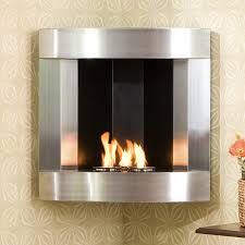 fa5823 southern enterprises corner wall mounted gel fuel fireplace