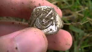 old rings silver images Metal detecting september 21st 2013 silver boy scout ring old jpg