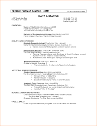 Form Of Resume For Job 11 Resume Format For Job Basic Job Appication Letter