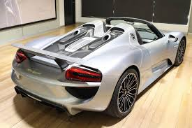 porsche home garage brand new porsche 918 spyder up for grabs down under