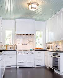 beadboard ceiling fashion los angeles traditional kitchen