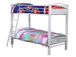 Beech Bunk Beds White Barcelona Single 3ft Wood Metal Bunk Bed Frame In Beech