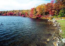 Delaware lakes images Fall foliage at the lakes of the delaware water gap jpg
