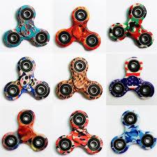 boxer dog fidget spinner 9pcs lot edc hand fidget tri spinner focus toys camo galaxy skull