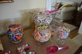 candy buffet for the love of felt