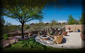 Desert Backyard Landscape Ideas Shade Trees Near Patio Share Outdoor Spaces Pinterest