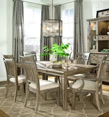 legacy classic brownstone village 7 piece dining set with