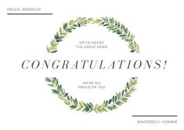 congratulations card customize 201 congratulations card templates online canva