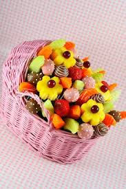 edible fruits basket baby shower fruit basket charming looked in pink wicker rattan in