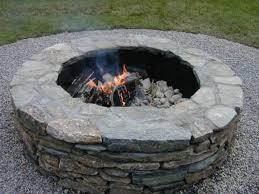 Firepit Stones Building A Backyard Pit Landscape Pavers And Bricks