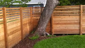 cool privacy fence from ashland dark brown on home design ideas