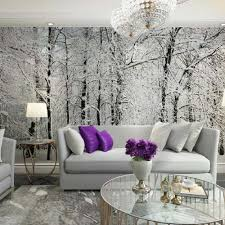 online get cheap trees wallpaper aliexpress com alibaba group winter snow branches tree wallpaper photo mural wallpapers for living room tv background 3d wall paper murals custom any size