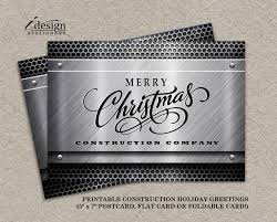 inspiring construction christmas cards business 99 with additional