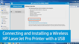 laserjet 4050n manual connecting and installing a wireless hp laserjet pro printer with
