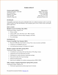 Example Student Resumes Very Good by Good College Student Resume Examples Sidemcicek Com