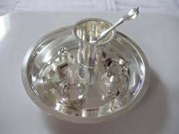 Silver Items Pure Silver Pooja U0026 Gift Items