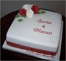 ruby wedding anniversary cake very traditional cake with w u2026 flickr
