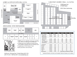 oregon convention center floor plan portland maine meeting venues holiday inn by the bay