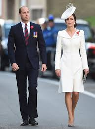 william and kate mark battle of passchendaele daily mail online