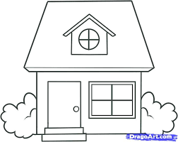 house drawings simple house drawing draw building plans 43647