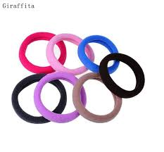 elastic hair bands 1 pc candy color hair holder high quality rubber band elastic hair