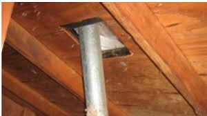 bathroom exhaust duct not connected to roof vent doityourself
