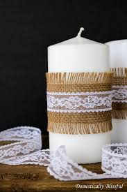 Home Decor Candles Top 10 Diy Home Decor Crafts You Can Make With Burlap Top Inspired