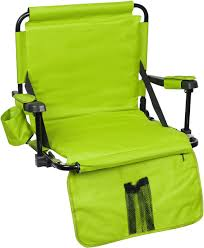 Backpack With Chair Trademark Innovations Stadium Chair With Under Seat Hooks And