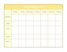 weight loss planner template weekly meal planner template word weekly meal planner template word steve weatherford leg workout venus factor weight loss plan reviews diet meal plans for a week videos download