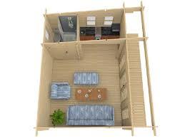 bureau de jardin en kit bureau de jardin brut à emboîter sydni 19