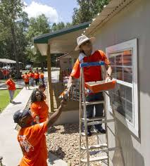 Home Depot Stores San Antonio Texas Home Depot Helps Grow Hope At Cancer Retreat The Courier