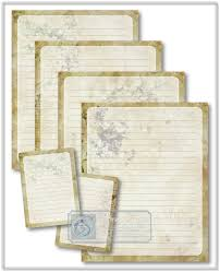 shabby chic journal pages journal cards printable stationery
